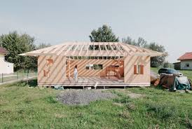 small house designs 65 sqm modern simple house design made of wood with steel pipes