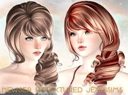 sims 3 hair custom content jennisims downloads sims3 without registration newsea hair