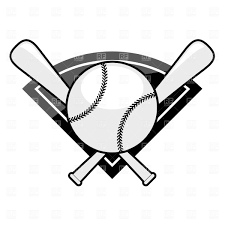 baseball emblem bat and ball vector clipart image 1480 u2013 rfclipart