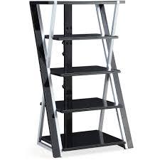 Audio Video Equipment Racks Stereo Rack Tower Storage Shelves Stand Audio Equipment Cabinet