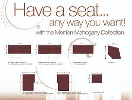 43100 Merrion U2013 Mahogany Sectional By Ashley Furniture At Furniturecart