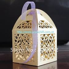 wedding favor gift box souvenirs fence design box box