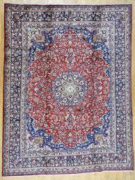 2x4 Rug Buy Esfahan Persian Rug Esfahan Authentic Esfahan Handmade Rug