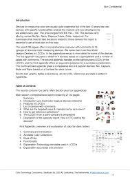 excerpt industry report low cost color capture devices u2013 ctc