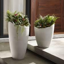 Outdoor Vase Outdoor Planters Pots And Garden Tools Crate And Barrel