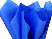 royal blue tissue paper bulk royal presidential sapphire blue wrap tissue