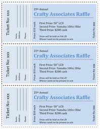 ticket template 15 free raffle ticket templates in microsoft word mail merge