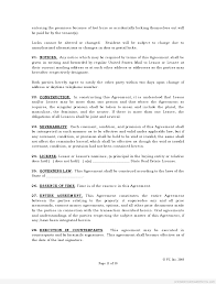 Free Lease Agreement Best Photos Of Free Standard Rental Agreement Templates Standard