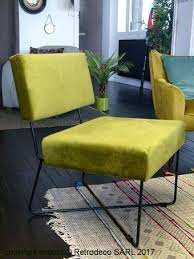 canapé hanjel pompadour fauteuil kaline velours vert mousse hanjel deco vintage p 14684html