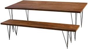 wood table with metal legs innovative ideas wood dining table legs pretentious design