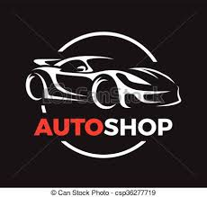 si e auto sport laden begriff honigraum auto sport design fahrzeug vektor