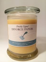 freshly signed divorce papers u2013 flick candles
