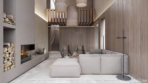 2 luxury homes with beige focused interior design 3