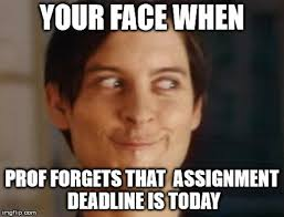 Picture Memes - every procrastinator will totally relate to these funny deadline memes