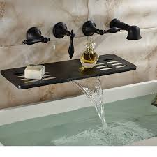 Oil Rubbed Bronze Widespread Bathroom Faucet by Articles With Oil Rubbed Bronze Waterfall Widespread Bathtub
