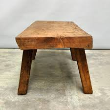 antique butcher block coffee table for sale stdibs results
