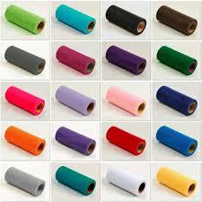 tulle rolls 6 12 x25 100yd soft tulle rolls tutu gift wrap craft wedding