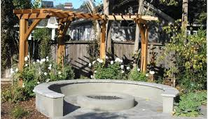 Pergola Backyard Ideas Patio U0026 Pergola Awesome Garden Design With Ambience Classic