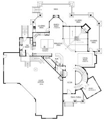 Tudor Floor Plans by Lake Front Plan 6 963 Square Feet 5 Bedrooms 5 5 Bathrooms