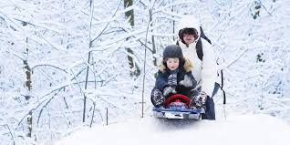 snow sledding tips to avoid landing in the e r huffpost