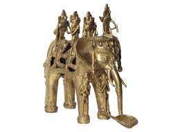 buy handicrafts online brass metal elephant showpiece home decor