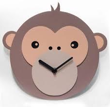 monkey business kids wall clock cool clocks com