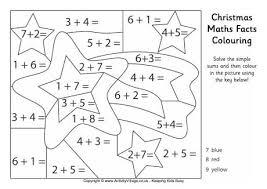 αποτέλεσμα εικόνας για christmas maths facts colouring page