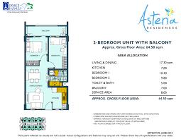 Naia Terminal 1 Floor Plan by Asteria Residences Dmci Best Condo