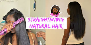 straight or curly hair for 2015 straightening natural hair from curly 2 straight nia imani youtube