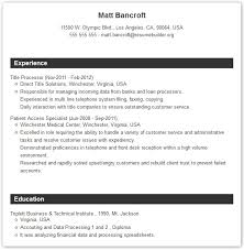 Create Resume Free Online by Create Resume Templates Best Professional Resume Examples Radio