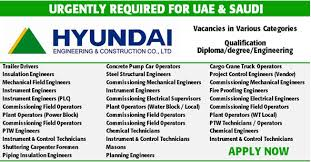 planning engineer jobs in dubai uae for americans hospital new jobs at hyundai engineering construction co ltd uae