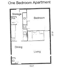 One Bedroom House Floor Plans Apartments 1 Bedroom Floor Plans Floor Plans Evergreen Terrace