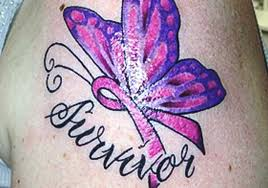 check out these inspiring breast cancer tattoos