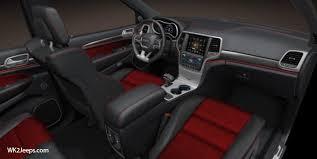 Grand Cherokee Srt Interior Jeep Grand Cherokee Wk2 2015 Srt8 Red Vapor Edition