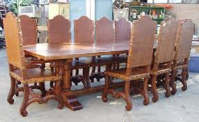 tuscan dining room table renaissance architecture custom old world furniture custom