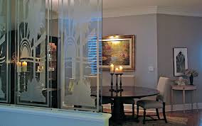 Dining Room Divider by Etched Glass Dividing Wall Into Dining Room U2013 Divine Creations