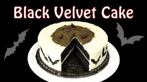 Cake Recipes For Halloween Black Velvet Cake Part 1 Halloween Cake By Cookies Cupcakes And