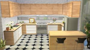 Kitchen Without Backsplash My Sims 4 Blog Kitchen From Perfect Patio Stuff No Backsplash