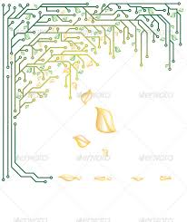 electronic tree trees creative and technology