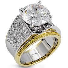 big diamond engagement rings simon g 18k large center diamond engagement ring