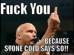 Stone Cold Meme - 17 very funny stone cold meme images and photos greetyhunt