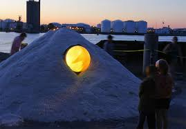 lighting world staten island artists turn 150 000 tons of salt into artwork at the lumen festival