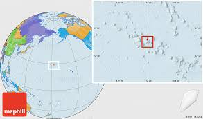 island on map political location map of midway islands
