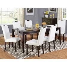 abbyson living bass city gray dining table set hayneedle