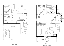 house floor plan house plans modern floor plan cottage elevated small on
