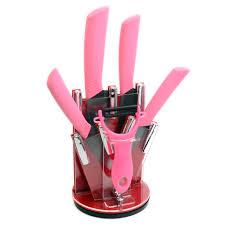 pink kitchen knives pink kitchen knife set kitchen design ideas