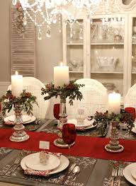 pottery barn christmas table decorations pottery barn dining room brown carpet on the wooden floor 4