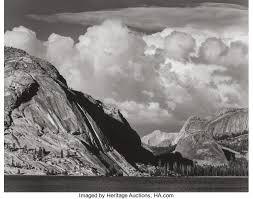 ansel adams yosemite and the range of light poster ansel adams american 1902 1984 tenaya lake yosemite national