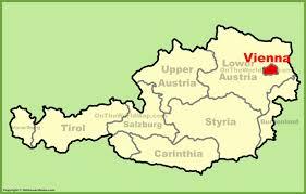 map of vienna vienna maps austria maps of vienna wien