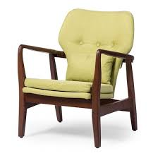 Retro Accent Chair Rundell Mid Century Modern Retro Fabric Upholstered Leisure